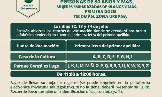 Se aclara que llegaron 72 mil 300 dosis de vacunas contra el Covid 19; las aplicarán en Tecomán