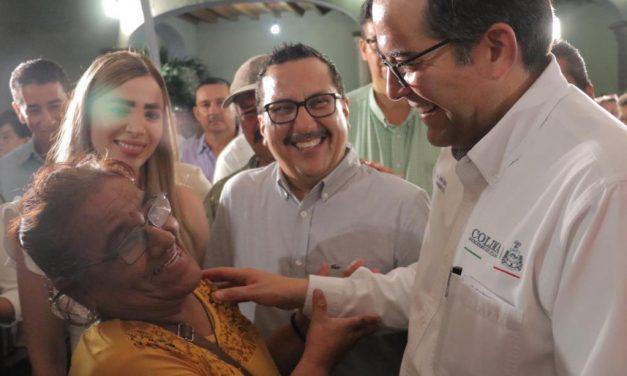 Nacho Peralta ha llevado muchos beneficios a Coquimatlán en 5 años