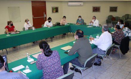 Secretario de Educación efectúa reunión con diputadas en torno a la Ley de Educación para el Estado de Colima
