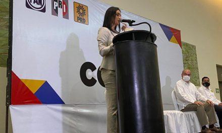 Es Mely Romero la precandidata del PAN, PRI y PRD a Gobernadora