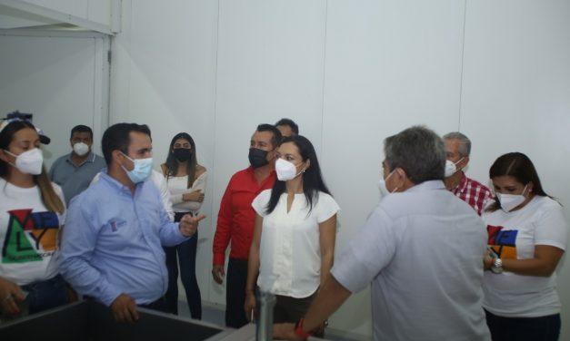 En Armería, Mely Romero propuso fondo de proyectos productivos para jóvenes