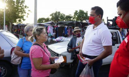 La gente ubica bien a los políticos que solo han decepcionado a Colima: Carlos Farías