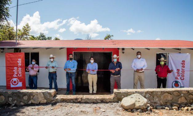 Peña Colorada rehabilita Base Jaguar, en Ayotitlán