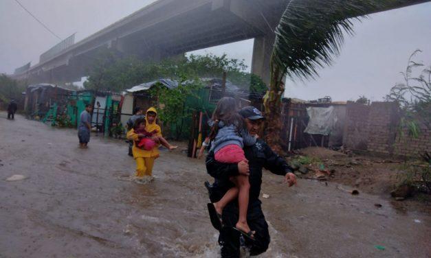 Se habilitó un refugio temporal  en el Barrio 1 de Valle de las Garzas