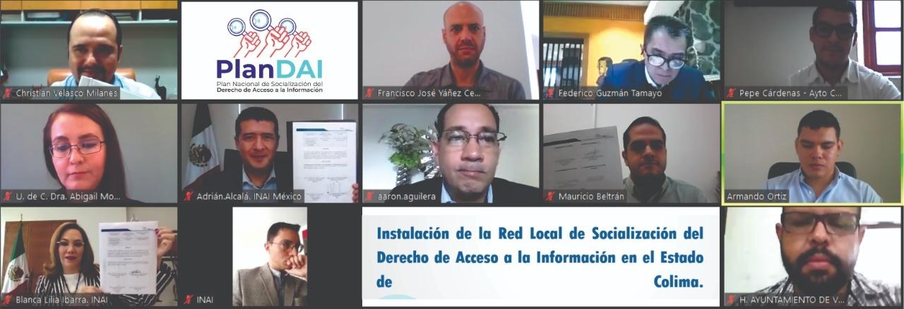 SE INSTALA LA RED LOCAL DE SOCIALIZACIÓN (RLS) DEL PLAN NACIONAL DE SOCIALIZACIÓN DEL DERECHO DE ACCESO A LA INFORMACIÓN